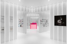 Completed in 2016 in Shanghai, China. Images by Dirk Weiblen. N3ON is a boutique sunglasses store offering a unique spatial retail experience. The concept for the space was inspired by ocular perception and the...