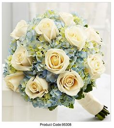 Hydrangea and Rose bouquet: $90 http://ww11.1800flowers.com/product.do?baseCode=95308&conversionTag=true