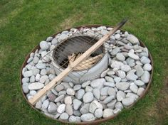 Firepit from washer tub
