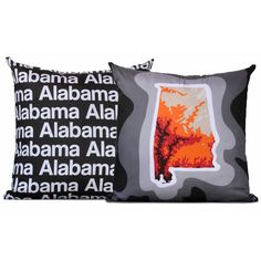 Alabama Pillow - Charcoal