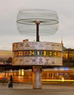 World Time Clock, Alexanderplatz, Berlin