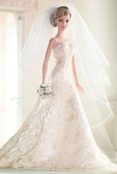 OMG:  Carolina Herrera Bride Barbie® Doll | Barbie Collector