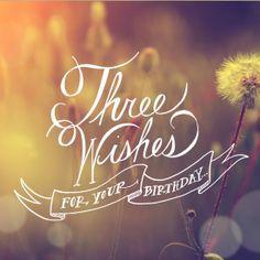 Three Wishes Blue Mountain EcardsBirthday
