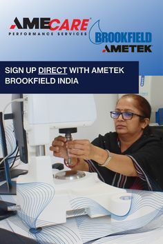 Gain peace of mind and assurance. Receive the highest level of attention and care. Sign up for an AMECare Extended Warranty directly with AMETEK Brookfield India. Center Of Excellence, World Leaders, Peace Of Mind, Gain, Centre, India, Goa India, Indie, Indian