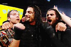 | Dean Ambrose, Roman Reigns, and Seth Rollins | The Shield |