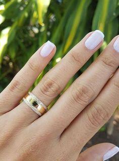 A aliança mais linda do Instagram! Visite www.reisman.com.br para saber mais!  #weddingring #aliança #alianças