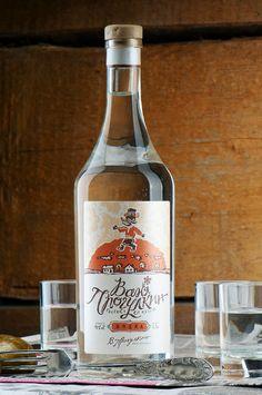 Ваня Прогулкин - водка (3) Russian Vodka, Packaging Design, Vodka Bottle, Wine, Drinks, Drinking, Beverages, Drink, Package Design