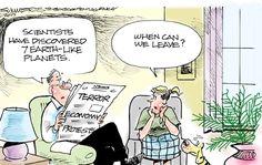 The News in Cartoons - Dana Summers/Tribune Content Agency