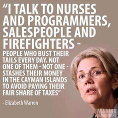 Elizabeth Warren #FeelTheBern and Endorse #Bernie2016