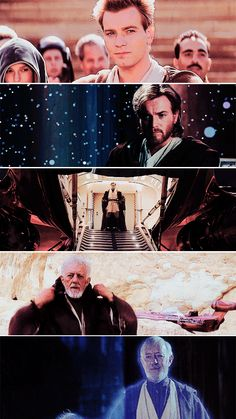 Obi Wan Kenobi: If you strike me down, I shall become more powerful than you could possibly imagine.   #starwars