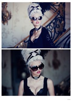 Modern Marie Antoinette style Fit for a Queen- Wildfox Ellen Von Unwerth, Editorial Hair, Editorial Fashion, Fashion Shoot, Bal A Versailles, Dandy, Pinup, Marie Antoinette Costume, Rococo Fashion