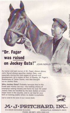 John Nerud and Dr Fager
