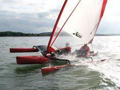 Video: the PBO team try out the Hobie Tandem Island trimaran Canoe Camping, Canoe And Kayak, Kayak Fishing, Sea Kayak, Sailing Kayak, Kayak Boats, Hobie Adventure Island, Hobie Tandem Island, Kayak Outriggers