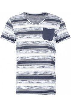 Hombre Camisetas - Tom Tailor FITTED Camiseta print white