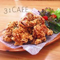 ♥ ︎ 31 CAFE Popularity No. Meat Recipes, Asian Recipes, Chicken Recipes, Cooking Recipes, Ethnic Recipes, Cafe Menu, Cafe Food, My Favorite Food, Favorite Recipes