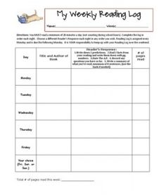 Thanksgiving ELA Printables and Craft | Weekly reading logs and ...