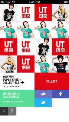 UNIQLO Digital Campaign by Alex Townsend, via Behance