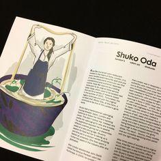 """50 mentions J'aime, 3 commentaires - Gwendoline Blosse (@gwendolineblosse) sur Instagram: """"Illustration/portrait de @shukooda du @koyabar pour le dernier @triplecooked r • • • • •  #udon…"""""""