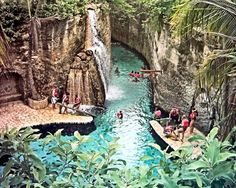 Xcaret - Mexico under ground river