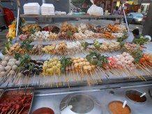 Street food on Jalan Alor, Kuala Lumpur, Malaysia