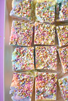 Transform a simple snack into a magical treat by turning yogurt into the prettiest Unicorn Yogurt Bark your kids have ever seen!
