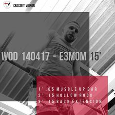 #EMOM #Wod #training #voiron #crossfit #crossfitvoiron #muscleupbar #muscleup #hollowrock #backextension