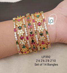 Bangle Bracelets, Bangles, Stylish Watches, Stone Gold, Gold Jewelry, Jewellery, Cz Stones, Beautiful, Saree