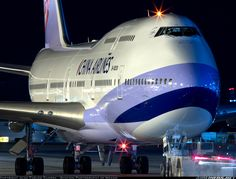 China Airlines Boeing 747-409. Photo by Juan Carlos Guerra