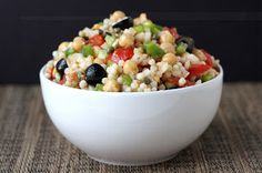 Cookistry: Whole Foods Feasting: Israeli Cousous Salad