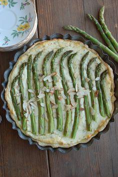 Fairview Farm: Rustic Dutch Rosemary Asparagus Pie