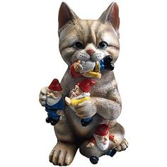 GARDEN GNOME STATUE - Cat massacre Art Sculpture Outdoor Lawn Decor Patio Yard      img{max-width:100%}   img{width: 100%;}button.accordion{background-color: #058CD3; https://trickmyyard.com/product/garden-gnome-statue-cat-massacre-art-sculpture-outdoor-lawn-decor-patio-yard/