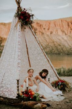 boho wedding perfection - featuring floravere wedding dresses