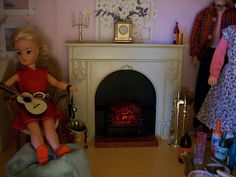 Vintage Sindy Fireplace ~ HAVE