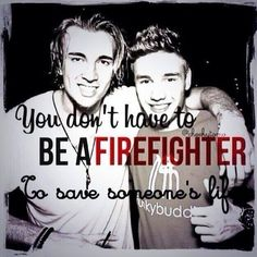 In case you haven't heard: Liam saved Andy from a fire at his house and Andy had to go to the hospital