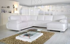 DENVER Corner Sofa Bed Set V - Corner Sofa Beds - Living Rooms
