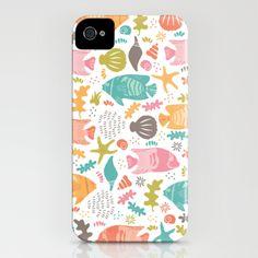 Retro Fish, IPHONE CASE / IPHONE (4S, 4)