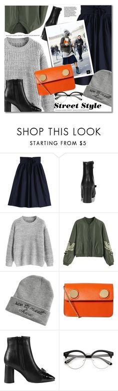 """street style"" by svijetlana ❤ liked on Polyvore featuring Orla Kiely, StreetStyle and zaful"