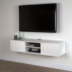 Tv stand for the wall south shore wall mounted media console stand for s up to tv wall mount stand decoration ideas tv stand walmart glass Floating Tv Stand, Floating Wall, Floating Tv Console, Floating Shelves For Tv, Open Shelves, Wall Mounted Media Console, Console Tv, Tv Console Modern, Wall Mount Tv Stand