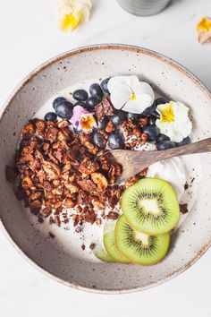 Chocolate Grain-Free Granola