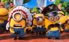Minions, Despicable me, Dance, Party