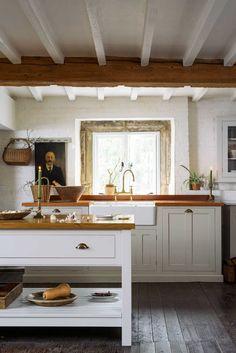 Back to Basics - The Freestanding Kitchen - The deVOL Journal - deVOL Kitchens Kitchen Furniture, Kitchen Dining, Kitchen Decor, Kitchen Ideas, Kitchen Cabinets, Kitchen Designs, Bedroom Furniture, Dining Room, Devol Kitchens