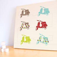 trendypeas  Handmade Nursery decor, Kids Prints, Modern Wall Decals
