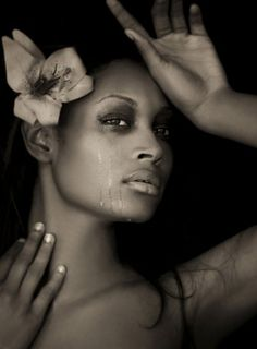 B&W Beauty/Crying Shoot - Cycle 6 (Danielle Evans)
