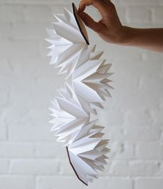 Eight Emperors - paper folding by Matthew Shlian and Thea Augustina Eck