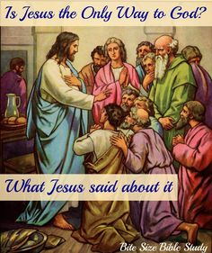 """1-Minute Bible Love Notes: Be Prepared: """"Is Jesus the Only Way?"""""""