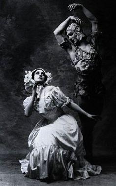 「薔薇の精 ニジンスキー&カルサーヴィナ」