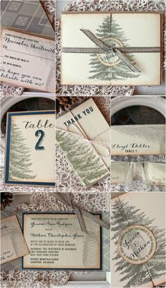 Vintage Pine Rustic Wedding Stationery Collection   http://sunshineandravioli.net/shop/products/category/rustic-pine-collection/ for more info