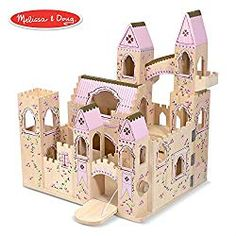 The Top 5 Dollhouses For Kids. This pretty wooden castle will make every princess heart melt.