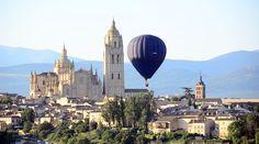 """Los globos de pasajeros poseen los llamados """"ventiles"""" para que el piloto pueda girarlo sobre su eje a voluntad."""