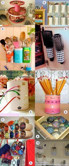 Idéias práticas para decorar e organizar